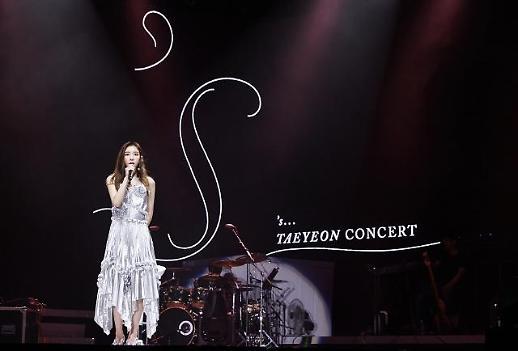 [포토] 소녀시대 태연 싱가포르 단독 공연