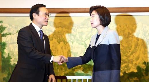 국회의장‧여야 원내대표 회동...1월 임시국회 무산