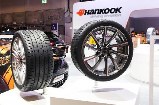 한국타이어, 유럽 자동차 산업 전시회서 기술력 과시