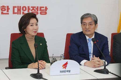 김병준 미세먼지 등 국민들 숨쉬기 힘들다…노영민 한국당 예방