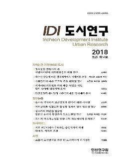 인천연구원, 학술지 『IDI 도시연구』통권 제14호 발간