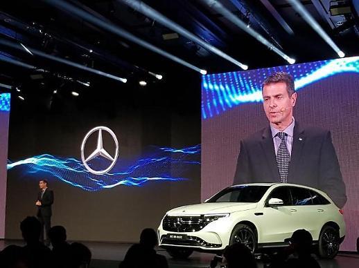 실라키스 벤츠코리아 대표 올해는 전기차 출시 원년, EQ 브랜드 해가 될 것