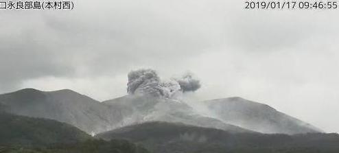 일본 가고시마 화산 폭발, 지난해에도 두차례나 더 있었다