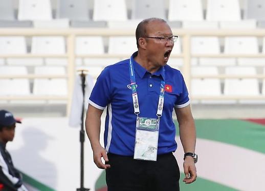 [아시안컵] 또 '박항서 매직' 부렸다…베트남 '기적의 16강행'