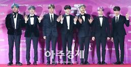 [포토] 방탄소년단, 미국 CNN뉴스에서도 주목한 최고의 아이돌 (2019 서울가요대상)