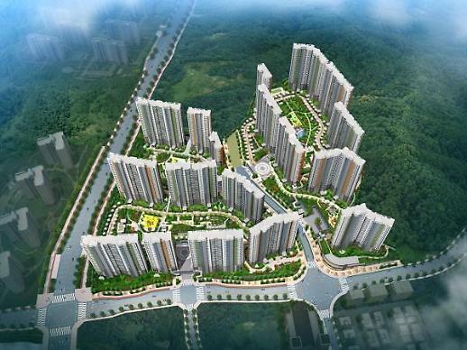 숲세권 민간임대 아파트 청주동남지구 대성베르힐 공급
