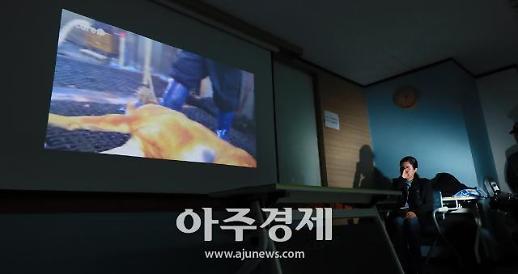 [포토] 케어 박소연 대표 개 도살 때문에 안락사 했다