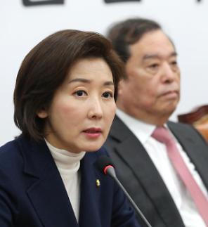 """나경원 """"손혜원 사건, 검찰 고발‧특검 동시 추진"""""""