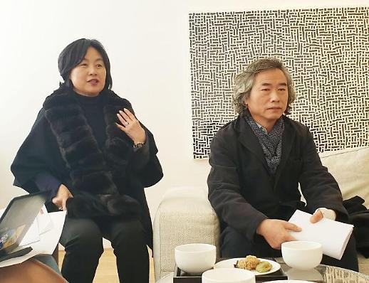 [전시 영상톡]고된 산비탈 개간..검은 비닐은 어찌나 반짝이던지..남춘모 개인전 리안갤러리 서울