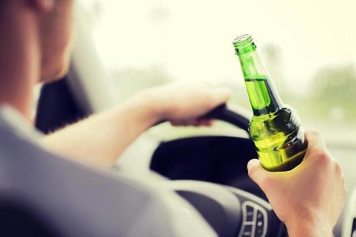 전날 마신 술, 면허 정지수준  현직 검사, 접촉사고로 음주운전 적발