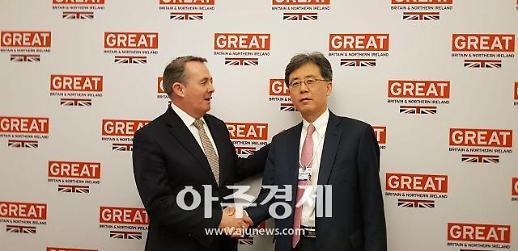 韓-英, 노딜 브렉시트 대비 임시조치 신속 논의 합의