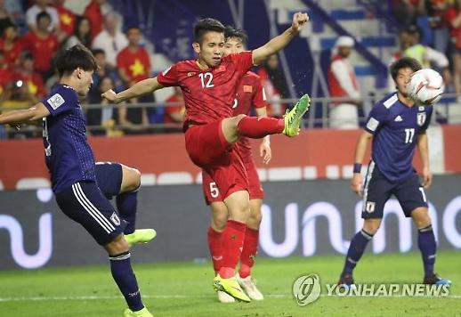 [아시안컵] 베트남 이긴 일본, 기쁘지만은 않다? PK 한골이라니…너무하네
