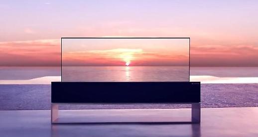 돌돌 말리는 LG전자 롤러블 TV 실물 보고 싶다면?