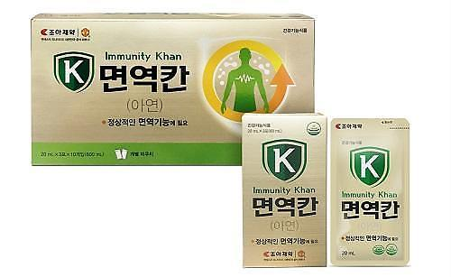 조아제약, 동절기 면역 증진 건기식 '면역칸' 출시