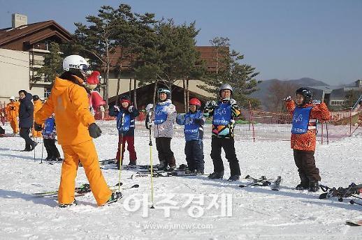 강원랜드, 폐광지 청소년 초청 무료 스키캠프