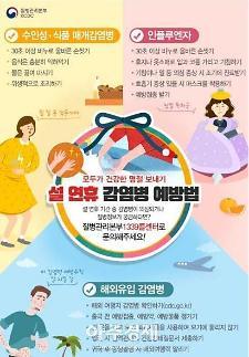 [구리시] 설 연휴 국내·외 감염병 주의…손 씻기 최고 예방책