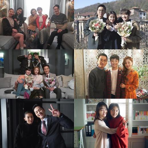 스카이 캐슬 미공개 가족사진부터 종영소감까지 굿바이 캐슬