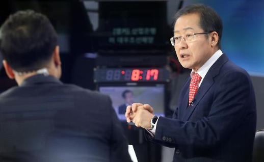 홍준표 여의도 돌아가면 이명박·박근혜 석방 운동할 것