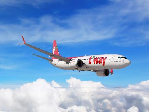 티웨이항공, 지난해 매출 7319억원...창립 후 최대 기록