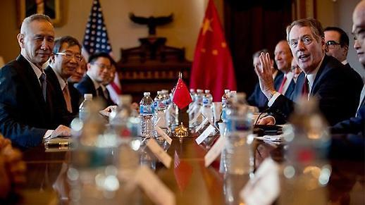 美中 베이징 담판 시작…무역협상 타결·연기·결렬 분수령