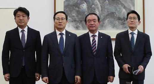 한국당 5·18 망언 정치권 강타…청 국민 합의 위반