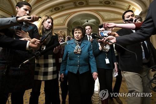[글로벌포토] 셧다운 위기 재점화 우려...민주당 너무 독선적