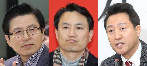 한국당 당권 후보 3인, 5·18 망언 입장차