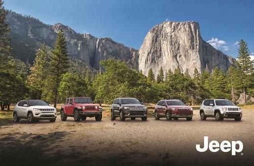 지프, 1월 車 판매 812대...수입 SUV 브랜드 1위 등극