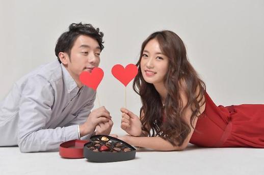 발렌타인 데이트비용만 5만원...사랑의 경제규모는?