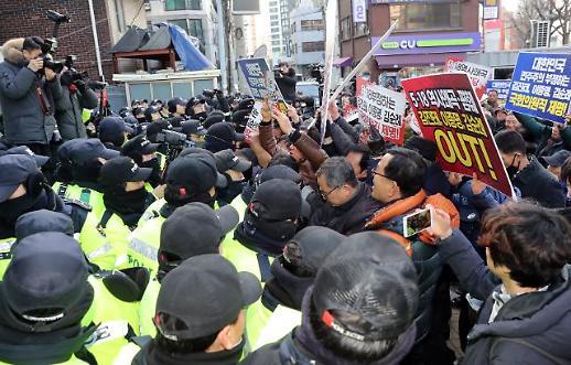 """자유한국당 5·18 망언 이종명 제명..김진태·김순례 결정유예에 한통속임 자인""""분노 폭발"""