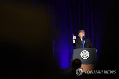 트럼프, 장벽예산 서명하고 비상사태 선포 예정...민주당 반발