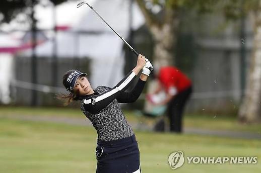 '2R 보기프리' 이정은, LPGA 데뷔전 '버디 사냥' 시동