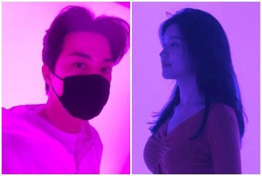 [포토] 김지훈·윤호연, 같은 공간에서 찍은 인스타...연인 아냐 열애설 부인