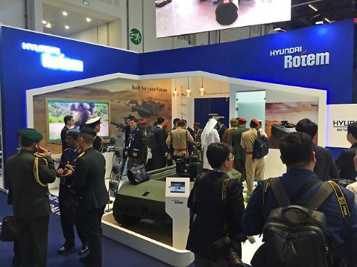 현대로템, UAE 방산 전시회 참가… K2전차 수출길 모색