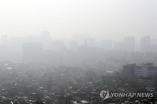 서울·인천·경기도 전역, 이틀 연속 미세먼지 예비저감조치