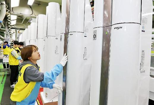 경남 창원 LG 휘센 에어컨 생산량 전년 대비 10% 늘었다