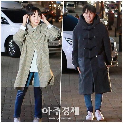 [포토] SKY캐슬 조병규♥김보라, 두 번째 열애설
