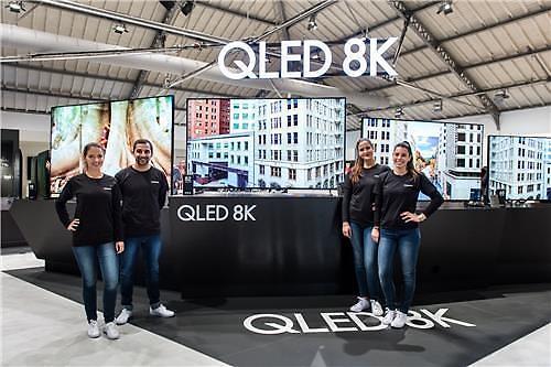 지난해 QLED TV판매량 OLED TV 제쳤다