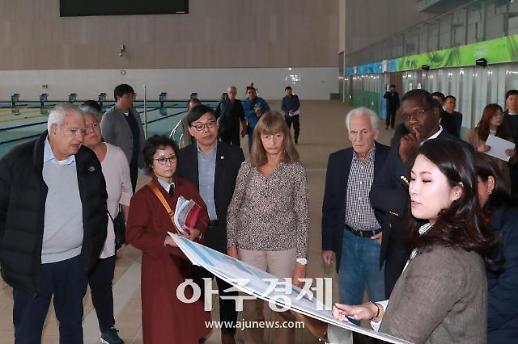 국제수영연맹 대표단 23일 광주 방문