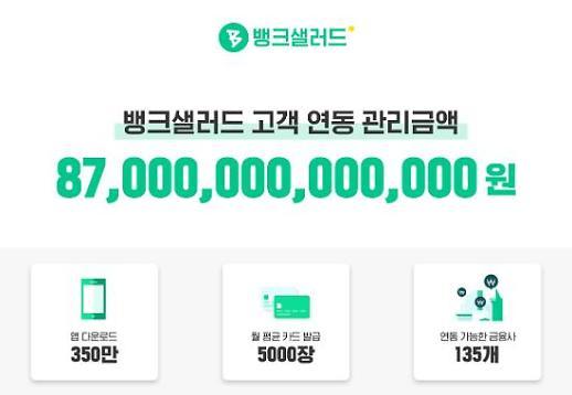 뱅크샐러드 실사용자 50% 넘어...올해 1천만 다운로드 기대