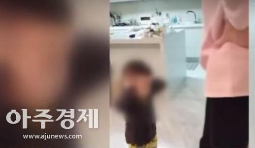 """""""미친XX"""" 엄마 고함에 귀막고 고개숙인 아들…조현아 동영상 확산"""