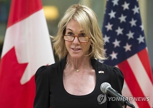 트럼프, 새 유엔대사로 켈리 크래프트 캐나다대사 지명
