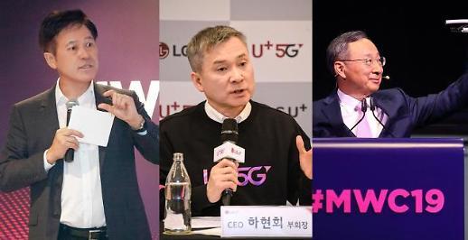 [MWC 2019] 통신3사 미디어 전략, SK 합병·LG 인수…KT는 눈치