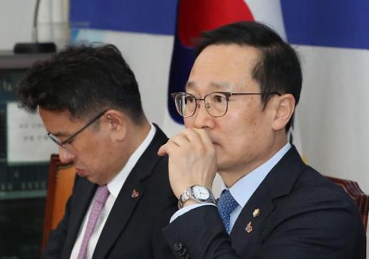 홍영표 더이상 한국당에 휘둘릴 수 없다