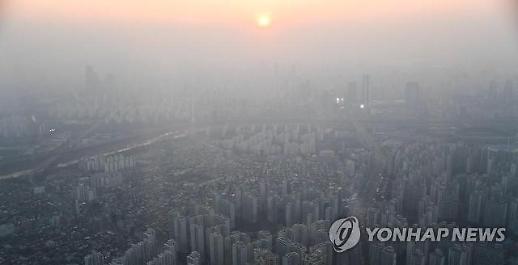 3월 2일(토요일) 미세먼지 농도 '전국 나쁨'