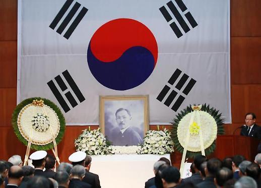[포토] 도산 안창호 선생 서거 81주기