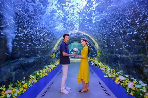 화이트데이, 아쿠아플라넷에서 즐기는 로맨틱한 데이트