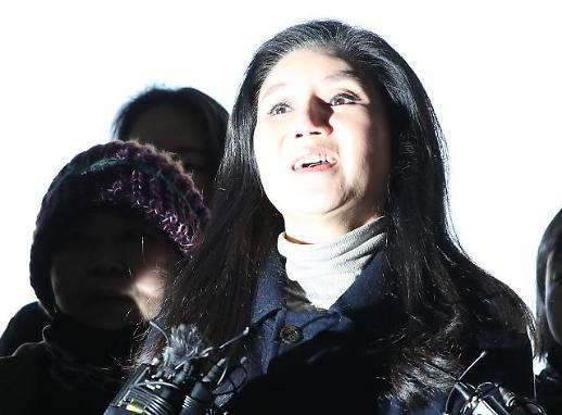 [포토] 박소연 케어대표 경찰 출석