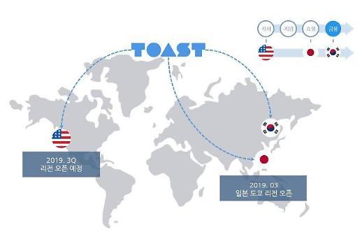 NHN엔터 TOAST, 일본 클라우드 시장 진출