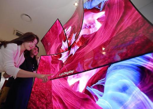 삼성·LG, 지난해 전세계 디스플레이 시장 1·2위···초격차 전략 주효